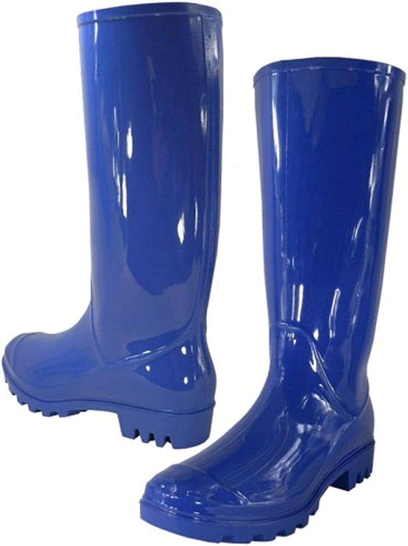 Women Rain Boots Stylish Waterproof Rubber Boots for Ladies