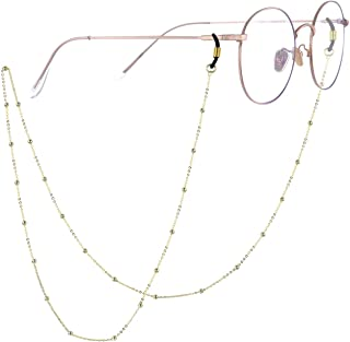 SOULMEET Sterling Silver Eyeglass Chains for Women, Eye Glasses Decoration Gift for Her 29'' Chain Length