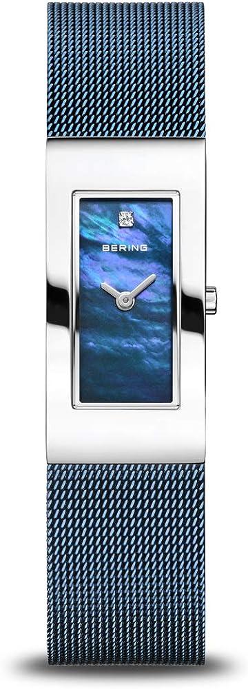 Bering orologio analogico donna con cinturino in acciaio inox 10817-307