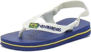 Havaianas Baby Brasil Logo II, Infradito Unisex-Bambini