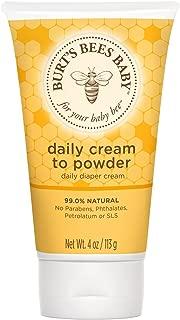 Burt's Bees Baby Daily Cream-To-Powder 4 oz
