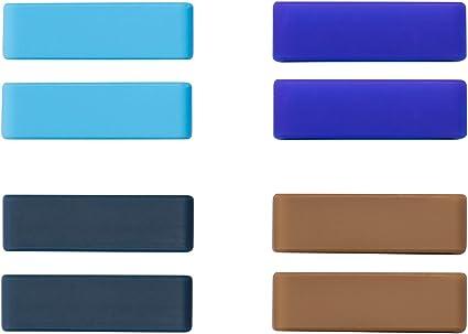 FITYLE 12pcs Anneau De Bracelet De Montre De Retenue en Caoutchouc De Retenue De Boucle De Retenue 10mm-22mm