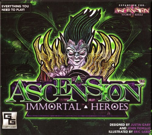 Gary Games UPE10065 Nein Ascension: Immortal Heroes, Spiel