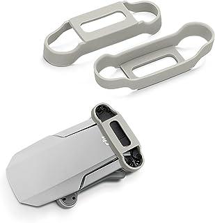 kwmobile 2x propellerbeschermer compatibel met DJI Mavic Mini/Mini 2 - Bescherming voor drone propellers in grijs