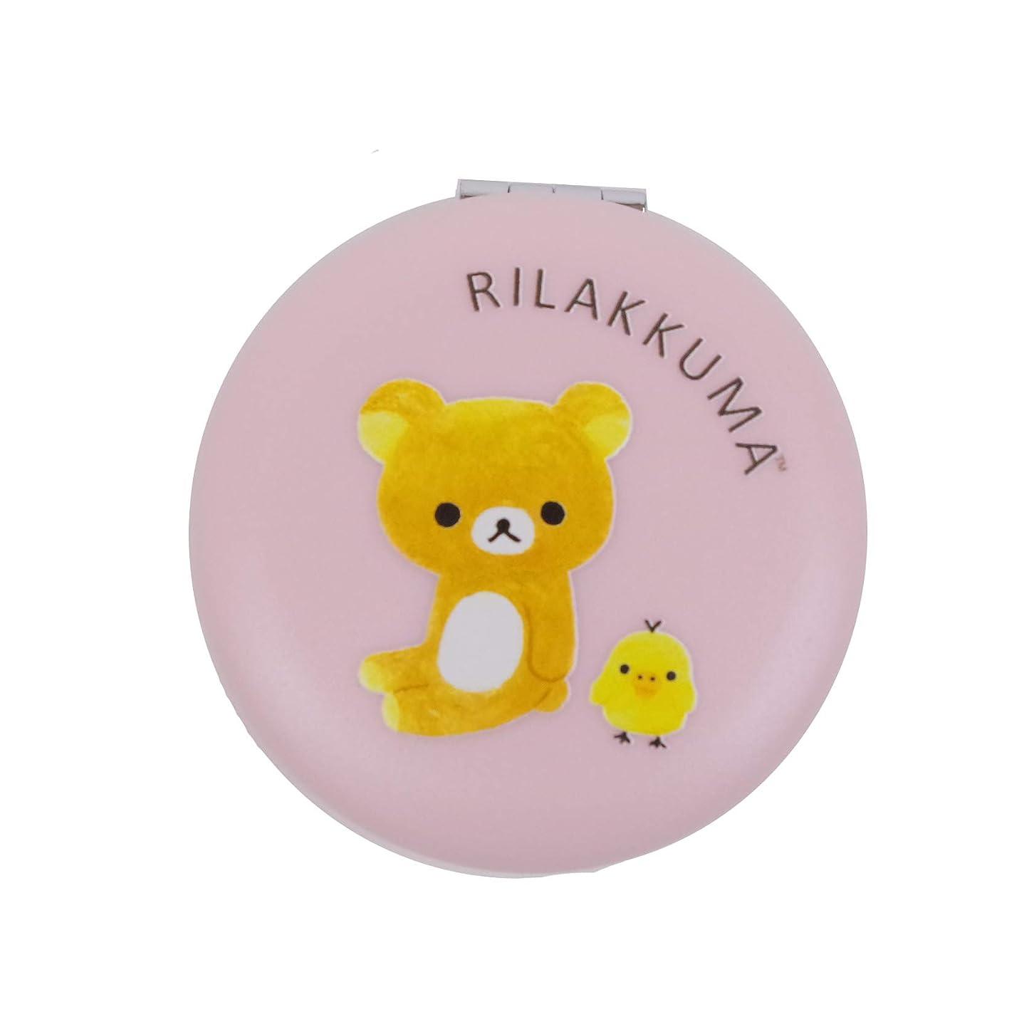 【リラックマ】マカロンミラー(ピンク) リラックマスタイル 063300
