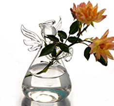 Clearance Sale!DEESEE(TM)💚💚Creative Flower Arrangement Home Hydroponic Container Angel Vase
