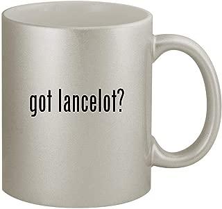 got lancelot? - 11oz Silver Coffee Mug Cup, Silver