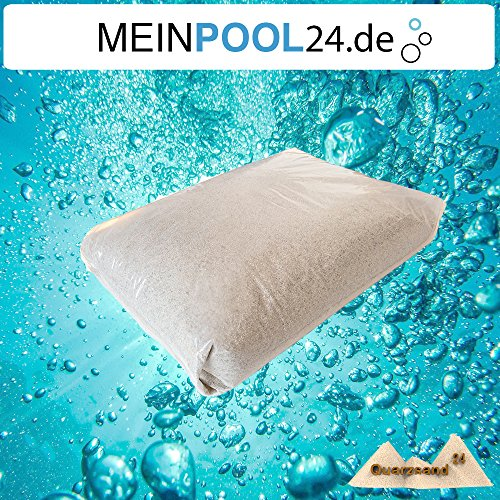 25 kg Filtersand für Sandfilteranlagen Quarzsand 1,0-2,0 mm H1 Marke