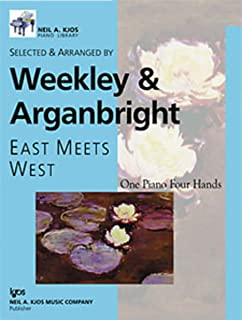 WP578 - East Meets West One Piano Four Hands Level 2 - Weekley & Arganbright