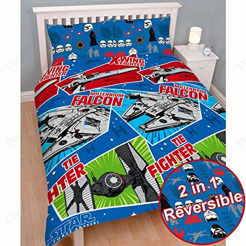 Star Wars Episode VII Craft Double Duvet Cover and Pillowcase Set