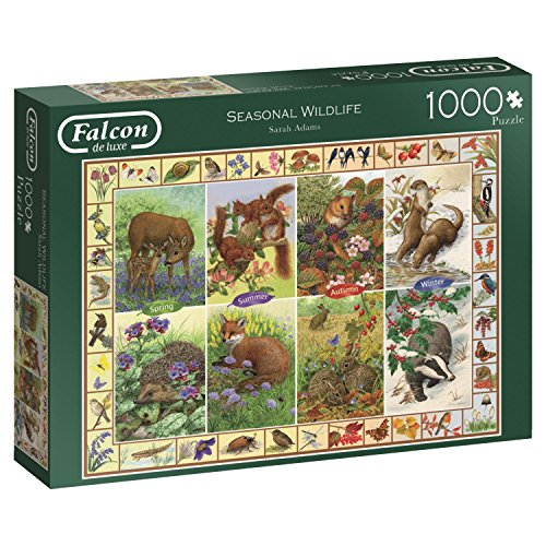 Falcon de luxe Seasonal Wildlife - 1000 Teile Puzzle