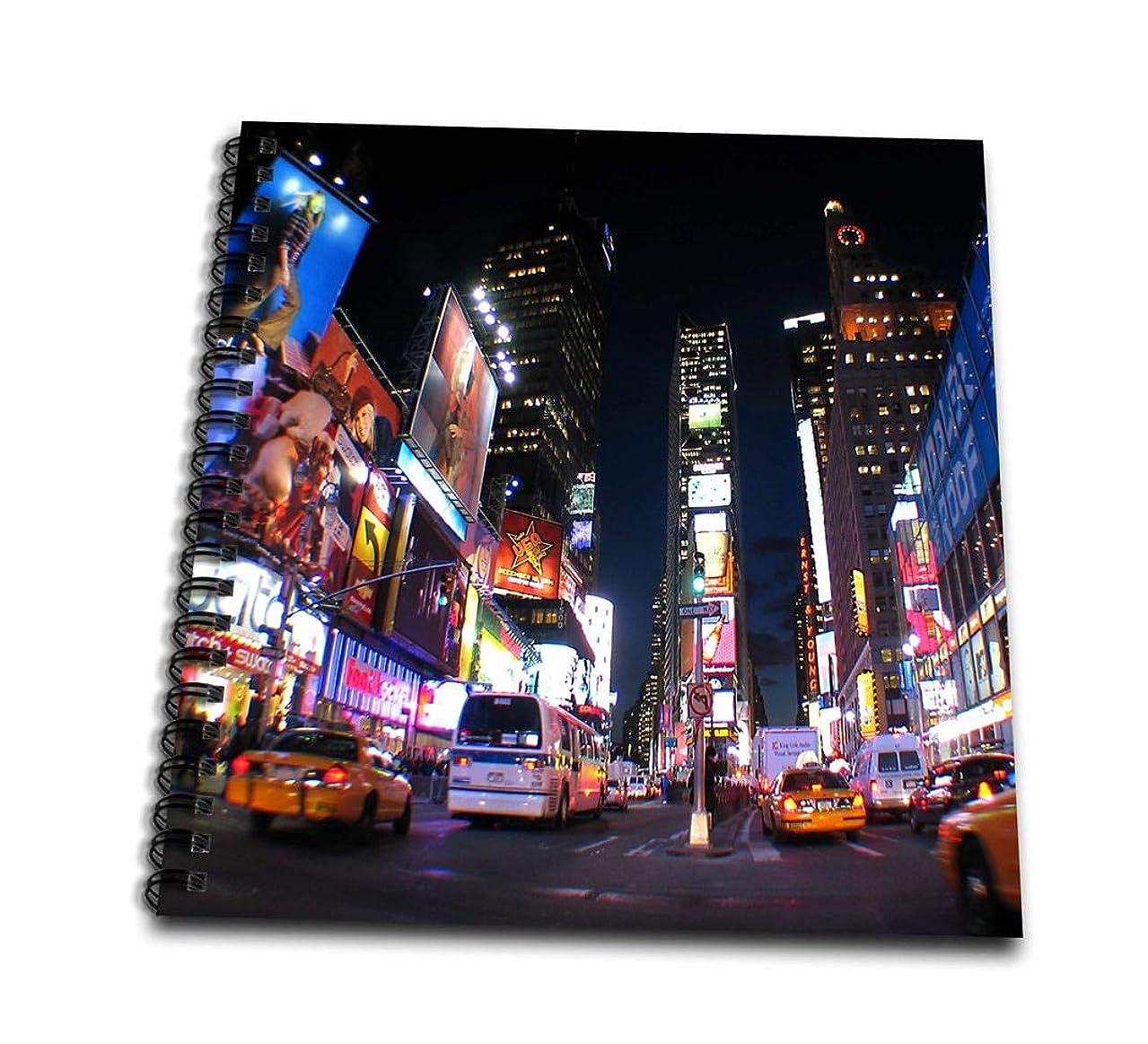 3dRose db_101408_2 New York at Night-Memory Book, 12 by 12