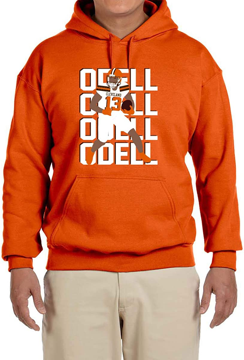 Tobin Be super welcome Clothing Orange Cleveland Odell Quantity limited Pic Sweatshirt Text Hooded