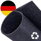 Zuschneidbare Antivibrationsmatte für Waschmaschinen, Trockner u.v.m. | Größe 60cmx60cmx10mm | Auch als Antirutschmatte, Waschmaschinenunterlage & Schalldämmung geeignet | MADE IN GERMANY