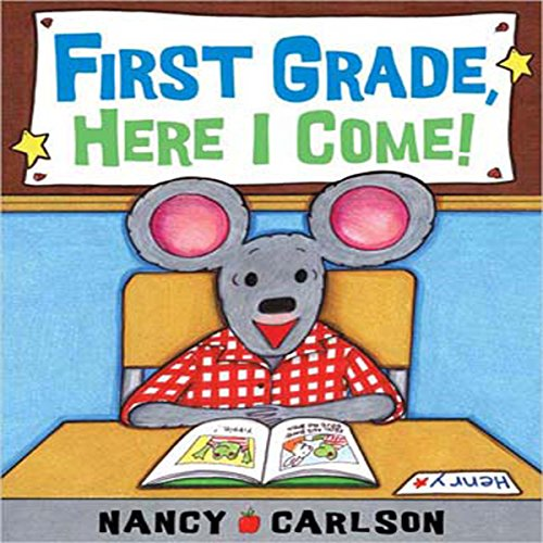 First Grade, Here I Come!  audiobook cover art