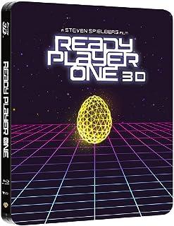 レディ・プレイヤー1 限定版スチールブック [3D Blu-ray + Blu-ray リージョンフリー 日本語有り](輸入版) -Ready Player One - Steelbook 3D+2D