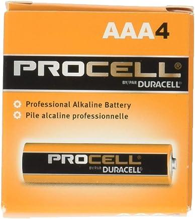 Procell Alkaline Batteries, AAA, 24/Box, Total 144 EA, Sold as