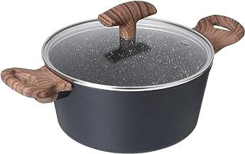 حلة للطهي ماي ستون من بيدريني، 20 سم - رمادي داكن
