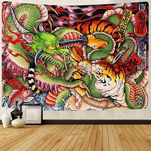 Flor abstracta tapiz linterna de calabaza cielo nocturno arte colgante de pared fondo tela sala de estar dormitorio decoración a36 73x95cm