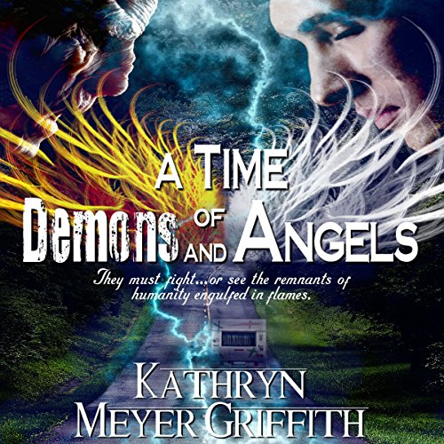 A Time of Demons and Angels audiobook cover art