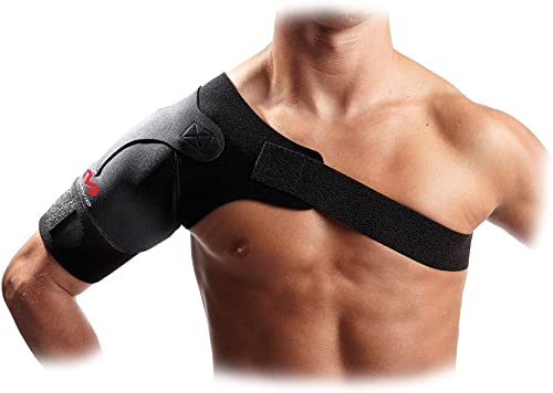 McDavid Shoulder Support Brace. Rotator Cuff Brace for Pain Relief, Rehab. Thermal Compression Therapy Sleeve, Wrap. ...