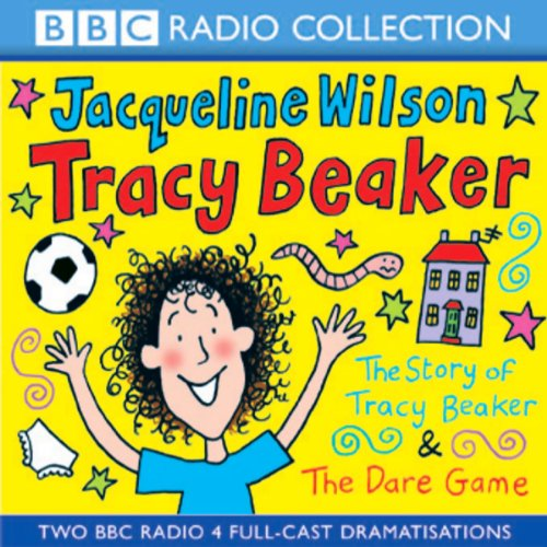 'The Story of Tracy Beaker' and 'The Dare Game' (Dramatised) cover art