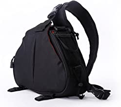 AnTeck Case Bag Backpack for DSLR Camera and Accessories for Canon Nikon Black