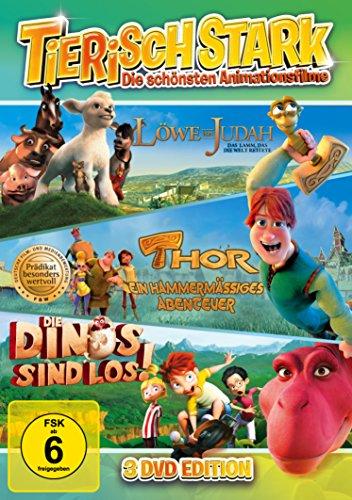 Tierisch stark! Löwe von Judah - Thor ein hammermässiges Abenteuer - Die Dinos sind los! (3DVD Box)