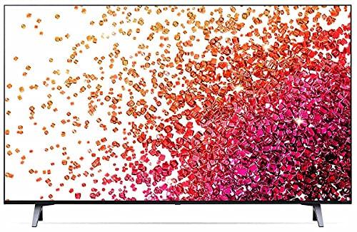 LG 109.2 cm (43 inches) 4K Ultra HD Smart NanoCell TV 43NANO73TPZ (Ashed Blue) (2021 Model)