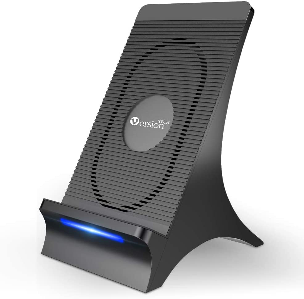 VersionTECH. Wireless Charger with Large special Ranking TOP7 price Fan Qi-Certified 15W Cooling