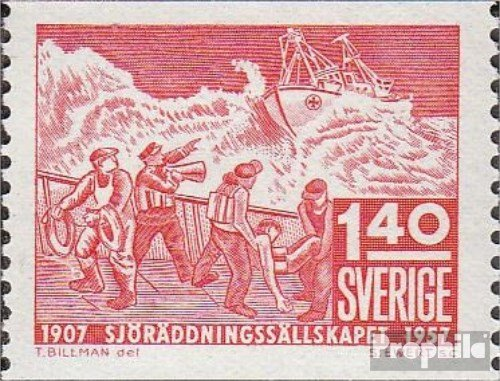 Sverige Mi.-nummer: 422A 1957 50 J. GZRS (frimärken för samlare)