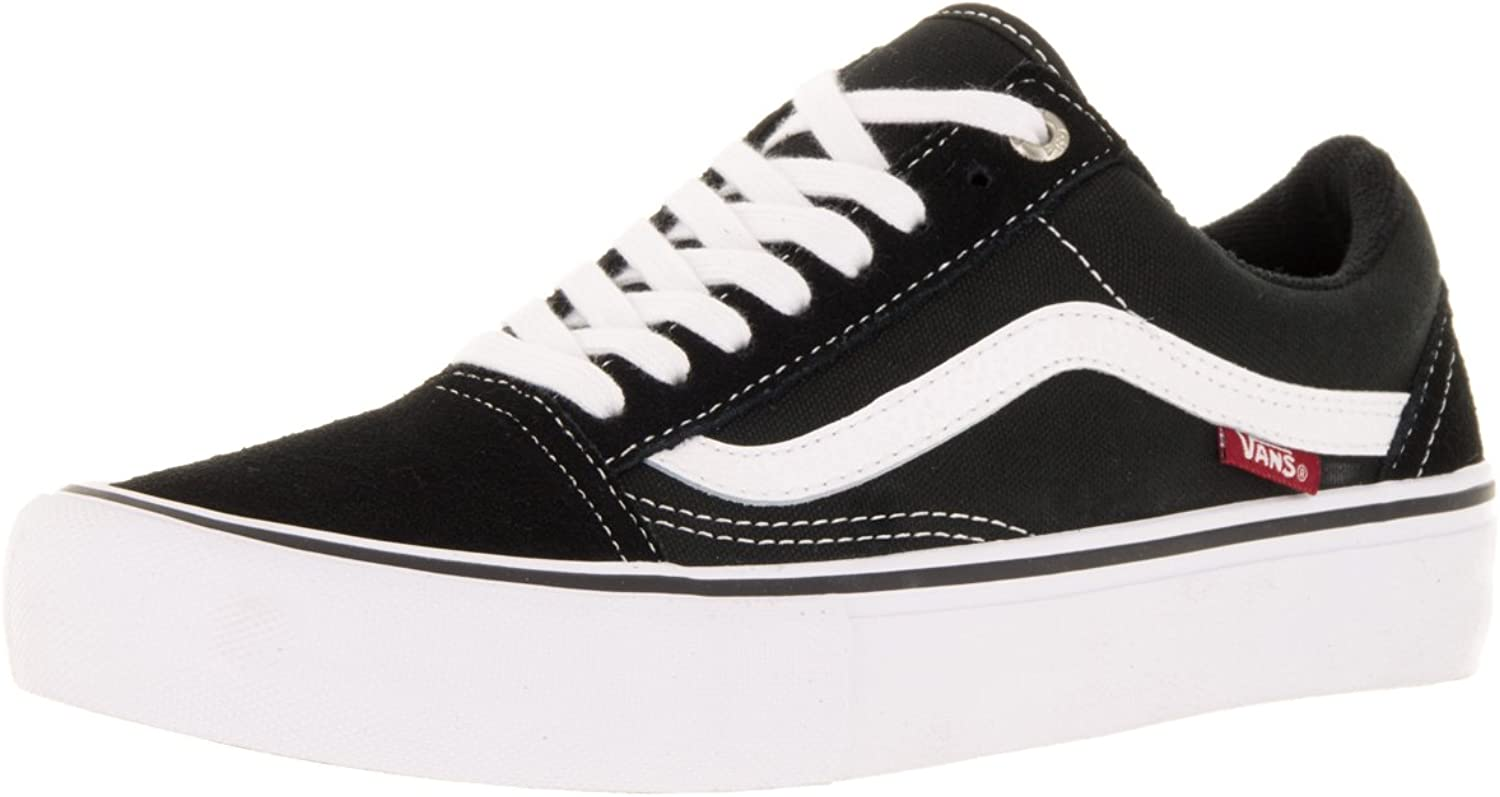 Vans - Old Skool Pro - 00ZD4Y28 - color  Black - Size  8.0