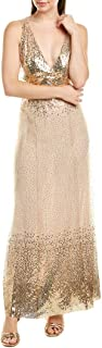 Anna Sui Womens Jewel of The Sea Gown, 4, Pink