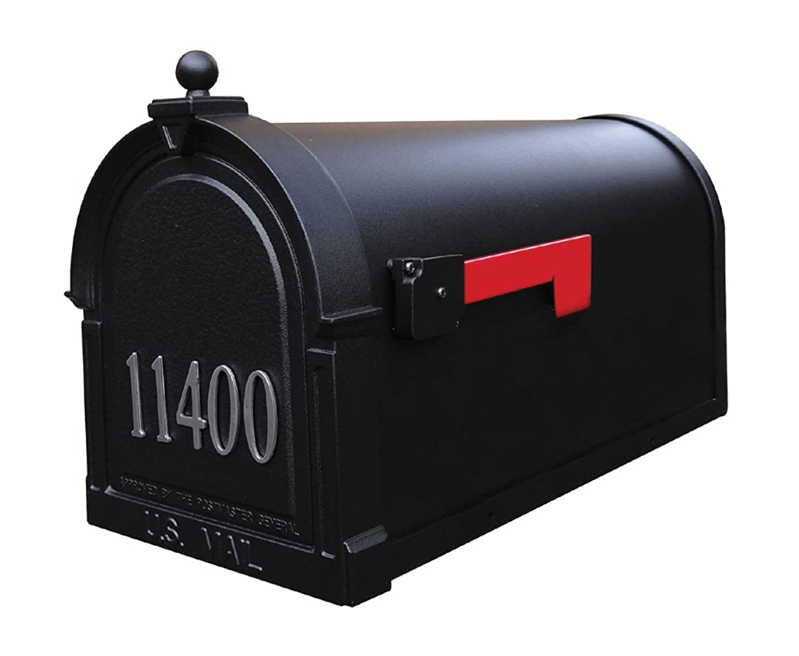 Special Lite Berkshire Curbside Mailbox with Front Numbers