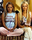 Paris Hilton & Nicole Richie Autograph Signed 8 x 10 Photo