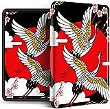 Funda Para Kindle - Japanese Samurai Flying Crane Magnetic Smart Cover Para La Nueva Versión De Kindle 658 Soft Auto Wake Up Case 2018 Kindle Paperwhite 4 10Th Generation Cases Shell, Style D, Para