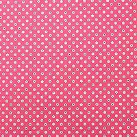 コスモテキスタイル シーチング 生地 いろは小紋シリーズ あられ 50cm単位販売 和柄 布 (もも)