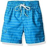 Kanu Surf Boys' Toddler Quick Dry UPF 50+ Beach Swim Trunk, Line Up Royal Blue, 2T