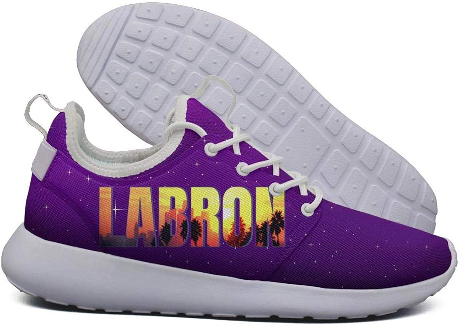 Womens Roshe Two Lightweight La_Bron_Yellow_Logo_Basketball Coll Cross-Trainer mesh shoes
