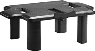 Convertible Monitor Riser Stand Desktop and Vesa 100 Compatible Laptop Tray Height Adjustable Table Top for Computer, Laptop, Printer, Notebook, Game Consoles and Flat Screen Display (PTT002) by WALI