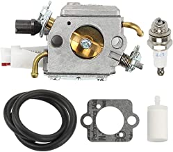 Fuel Li Carburetor Kit for Husqvarna 350 345 346XP 340 340E 340EPA 350EPA 351 353 345EPA ZAMA C3-El18 Chainsaw Replace 503283208 503281812