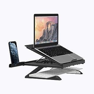 Soporte Portatil Adjustable Laptop Stand Soporte Laptop Soporte Ordenador Portátil para Macbook Pro Air, Lenovo y Otros 1...