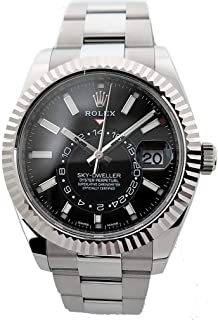 Rolex Sky-Dweller Mechanical (Automatic) Black Dial Mens Watch 326934 (Certified Pre-Owned)