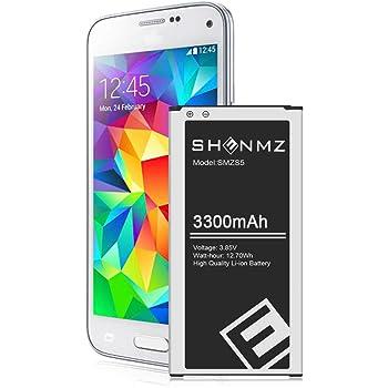 Galaxy S5 Battery,[Upgraded] 3300mAh Li-ion Replacement Battery for Galaxy S5 AT&T G900A,G900F,G900H,G900R4,I9600,SM-G900V,SM-G900P,SM-G900T,EB-BG900BBC [3 Years Warranty]