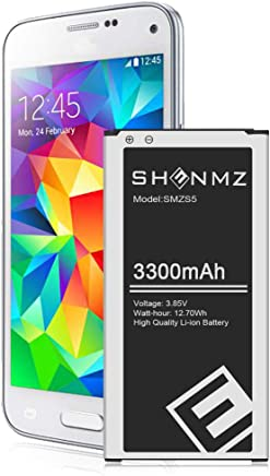 G900A T-Mobile ,G900P Sprint G900T Srotek Galaxy S5 Battery,2910mAh Li-ion Replacement Compatible with Samsung Galaxy S5 I9600 AT/&T Verizon G900V G900F