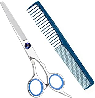 Hair Cutting Scissors Stainless Steel Hairdressing Tools Hair Comb Ideal for Cutting Trimming for Women Men