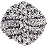 N+B All-Pie Chaîne de vélo 6/7 / 8 Vitesses 1/2 x 3/32 Pouces 116 chaînes de vélo avec 2 Paires de connecteurs de chaîne de vélo