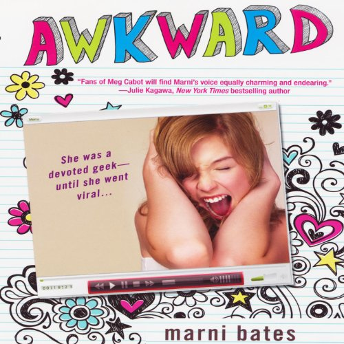 Awkward audiobook cover art