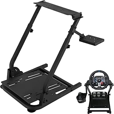 Amazon Com Mophorn Racing Steering Wheel Stand 360 Degree Stepless