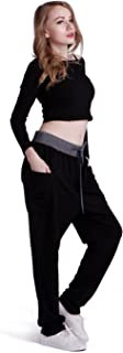 Women's Jogger Pants Casual French Terry Drawstring Slouchy Yoga Sweatpants